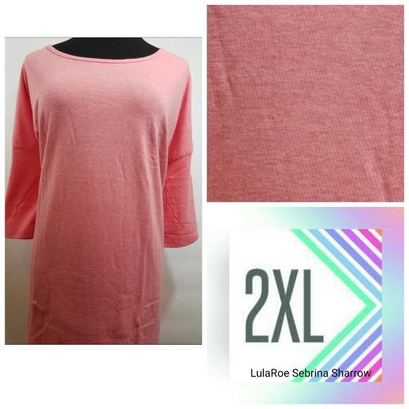 LuLaRoe Tops - LuLaRoe 2XL Irma